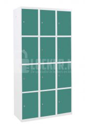 Basic lockerkast 12 vaks - mintturquoise