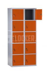 Basic Lockerkast XL 10 vaks