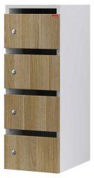6 vaks houten postkast HP1304 HD