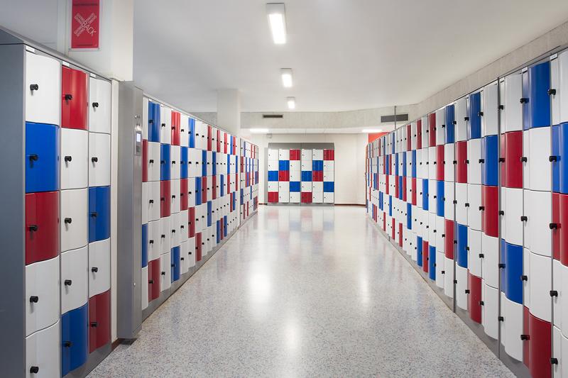 metalen lockers project