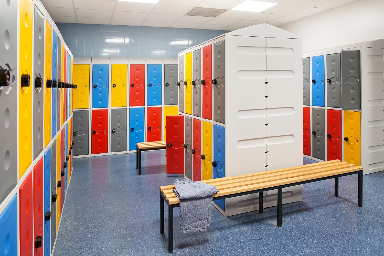 kunststof lockers