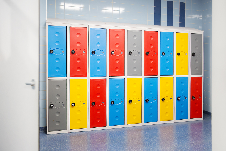 kunststof lockers project