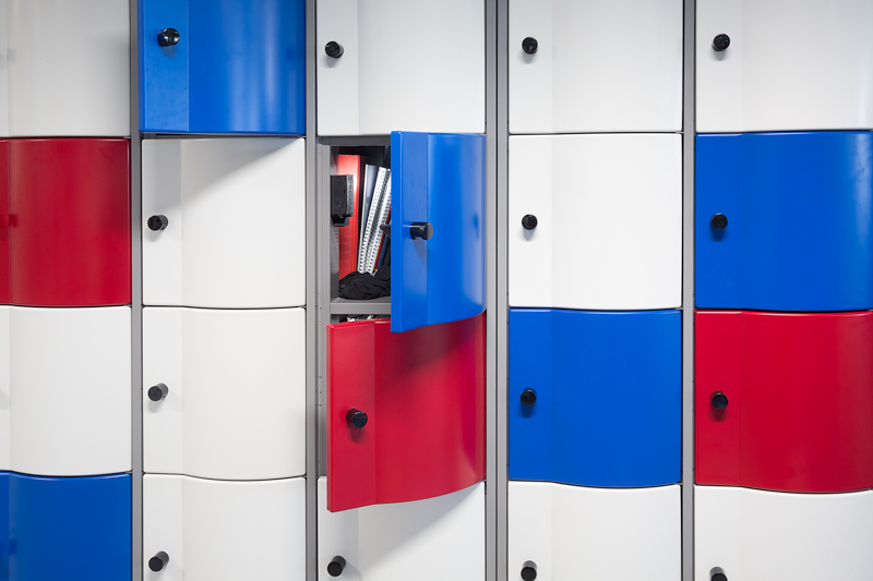 metalen lockers